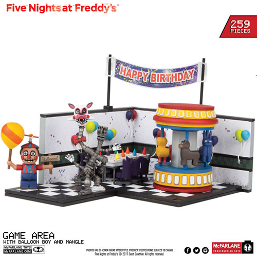 McFarlane Building Sets - Five Nights At Freddys - Large Set #02 - Game Area